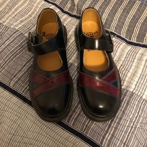 Dr. Martens Multicolored Mary Janes